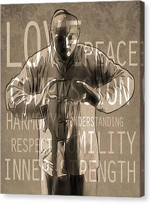Zen Harmony Canvas Print by Dan Sproul