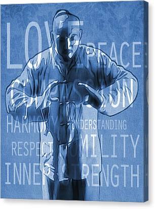 Zen Peace Canvas Print by Dan Sproul