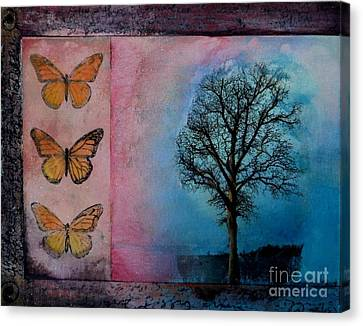 Zig's Tree Canvas Print by Cynthia Vaught