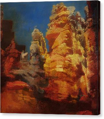 Zion Canyon Canvas Print by Corporate Art Task Force