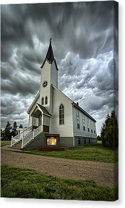 Zion Luthern Church Canvas Print by Thomas Zimmerman