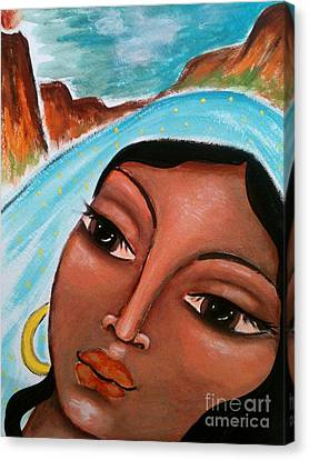 Zipporah Canvas Print by Maya Telford