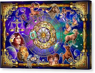 Zodiac 2 Canvas Print by Ciro Marchetti