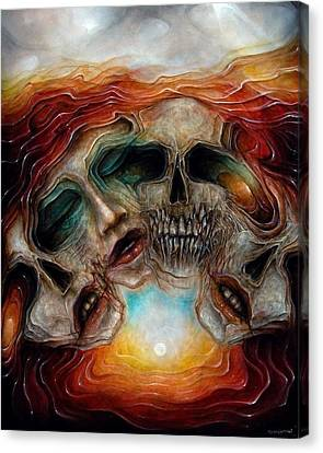 Zombie Flower Canvas Print by Robert Anderson