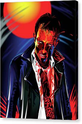 Zombie Rezurrection Canvas Print by Brian Gibbs