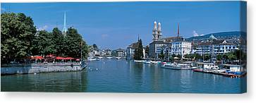 Zurich Switzerland Canvas Print by Panoramic Images
