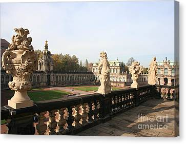 Zwinger Courtyard  Dresden  Canvas Print by Christiane Schulze Art And Photography