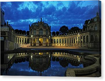 Zwinger Dresden Germany Canvas Print by Angela Kail