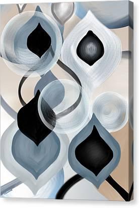 Zync Canvas Print by Christine Fournier