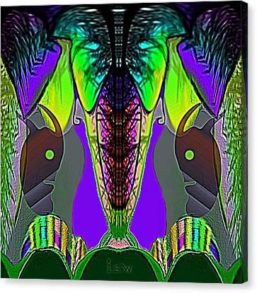 372 - Wonderfruit  Canvas Print by Irmgard Schoendorf Welch