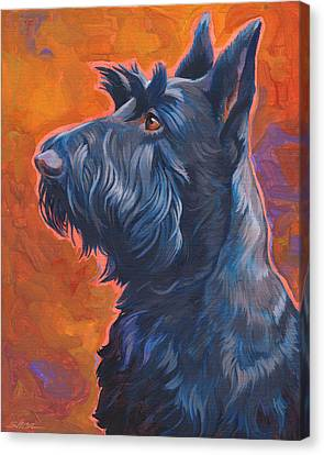 Beam Me Up Scottie Canvas Print by Shawn Shea