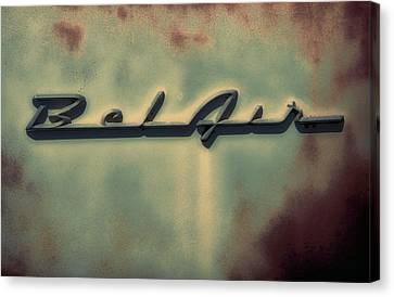 Bel Air Insignia Canvas Print by Tony Grider