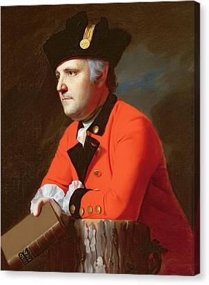 Colonel John Montresor  Canvas Print by John Singleton Copley