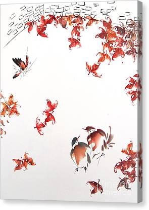 Fall Sensation Canvas Print by Ming Yeung