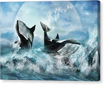 Forever Canvas Print by Trudi Simmonds