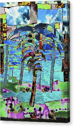 Life's Love Reciprocated Canvas Print by Kenneth James