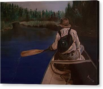 New Discovery Canvas Print by Joyce Reid