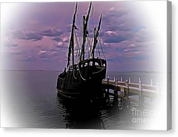 Notorious The Pirate Ship 5 Canvas Print by Blair Stuart
