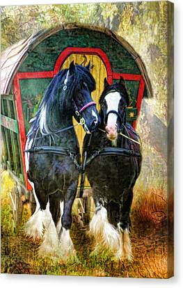 Travellers Canvas Print by Trudi Simmonds