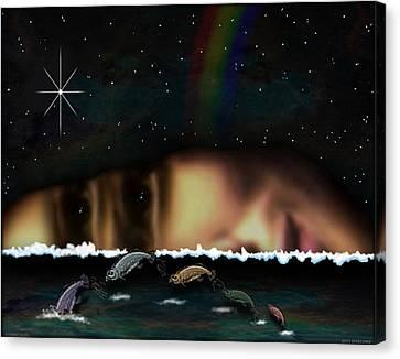01904015col Canvas Print by Michael Yacono