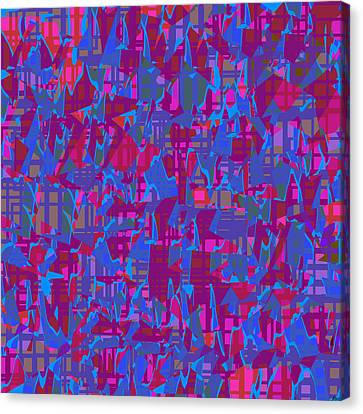 0671 Abstract Thought Canvas Print by Chowdary V Arikatla