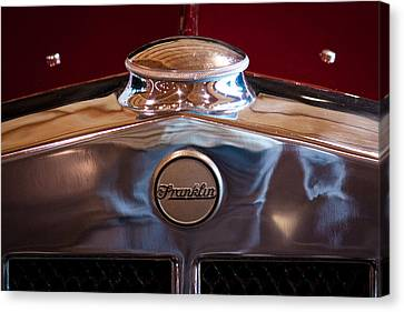 1929 Franklin Model 130 2-door Coupe Canvas Print by David Patterson