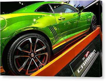 2012 Chevy Camaro Hot Wheels Concept Canvas Print by Gordon Dean II