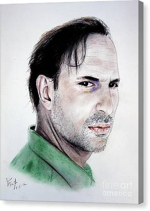 Actor Oscar Torre Canvas Print by Jim Fitzpatrick