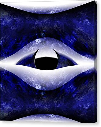 All Seeing Eye Canvas Print by Christopher Gaston
