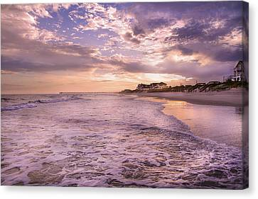 Always Remember The Sunset Canvas Print by Betsy C Knapp