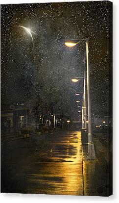 at Night Canvas Print by Svetlana Sewell