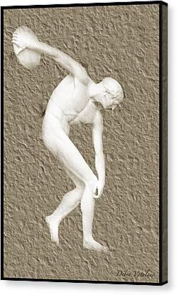 Athlete 2 Canvas Print by Debra     Vatalaro