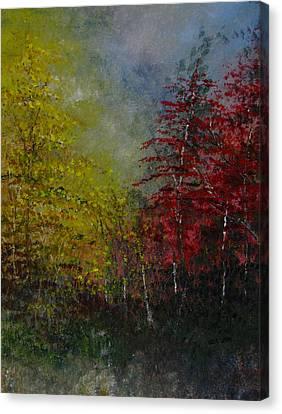 Autumn Sunshine Canvas Print by Sherry Robinson