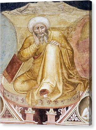 Averroes, Islamic Physician Canvas Print by Sheila Terry