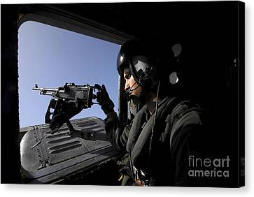 Aviation Warfare Systems Operator Canvas Print by Stocktrek Images