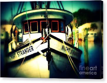 Back In The Harbor Canvas Print by Susanne Van Hulst