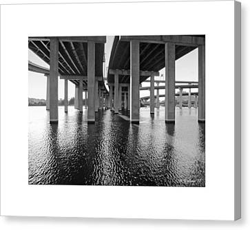 Baltimore By-pass Canvas Print by Brian Wallace