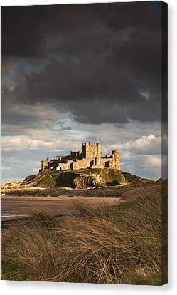 Bamburgh, Northumberland, England Canvas Print by John Short