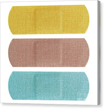 Bandaid Set Canvas Print by Blink Images