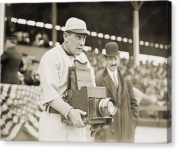Baseball: Camera, C1911 Canvas Print by Granger