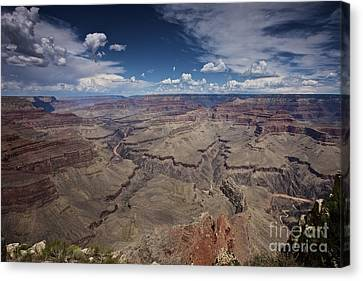 Beautiful Vista Of Grand Canyon Canvas Print by Terry Moore