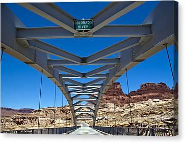 Bridge Across Colorado Canvas Print by Scotts Scapes