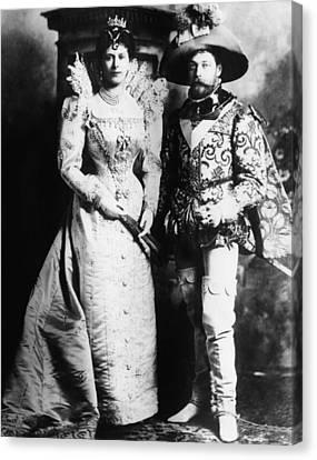 British Royal Family. Mary, Duchess Canvas Print by Everett