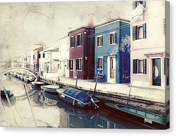 Burano Canvas Print by Joana Kruse