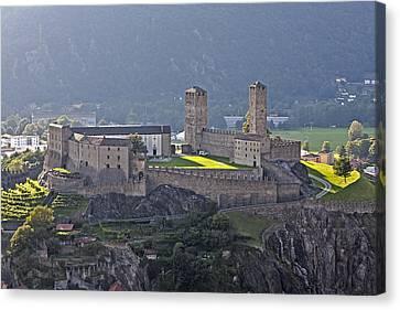 Castel Grande - Bellinzona Canvas Print by Joana Kruse