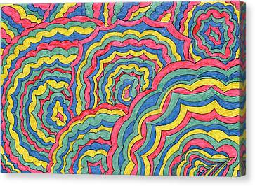 Celebrate Canvas Print by Lesa Weller