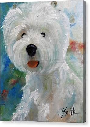 Cherubino Canvas Print by Mary Sparrow