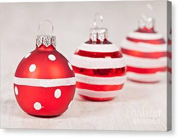 Christmas Balls Canvas Print by Sabino Parente