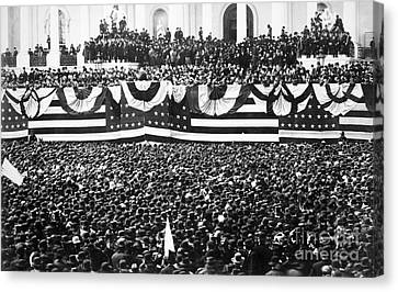 Clevelands Inauguration Canvas Print by Granger