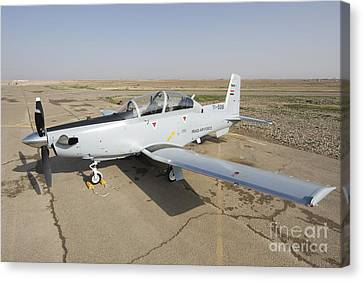 Cob Speicher, Tikrit, Iraq - A T-6 Canvas Print by Terry Moore